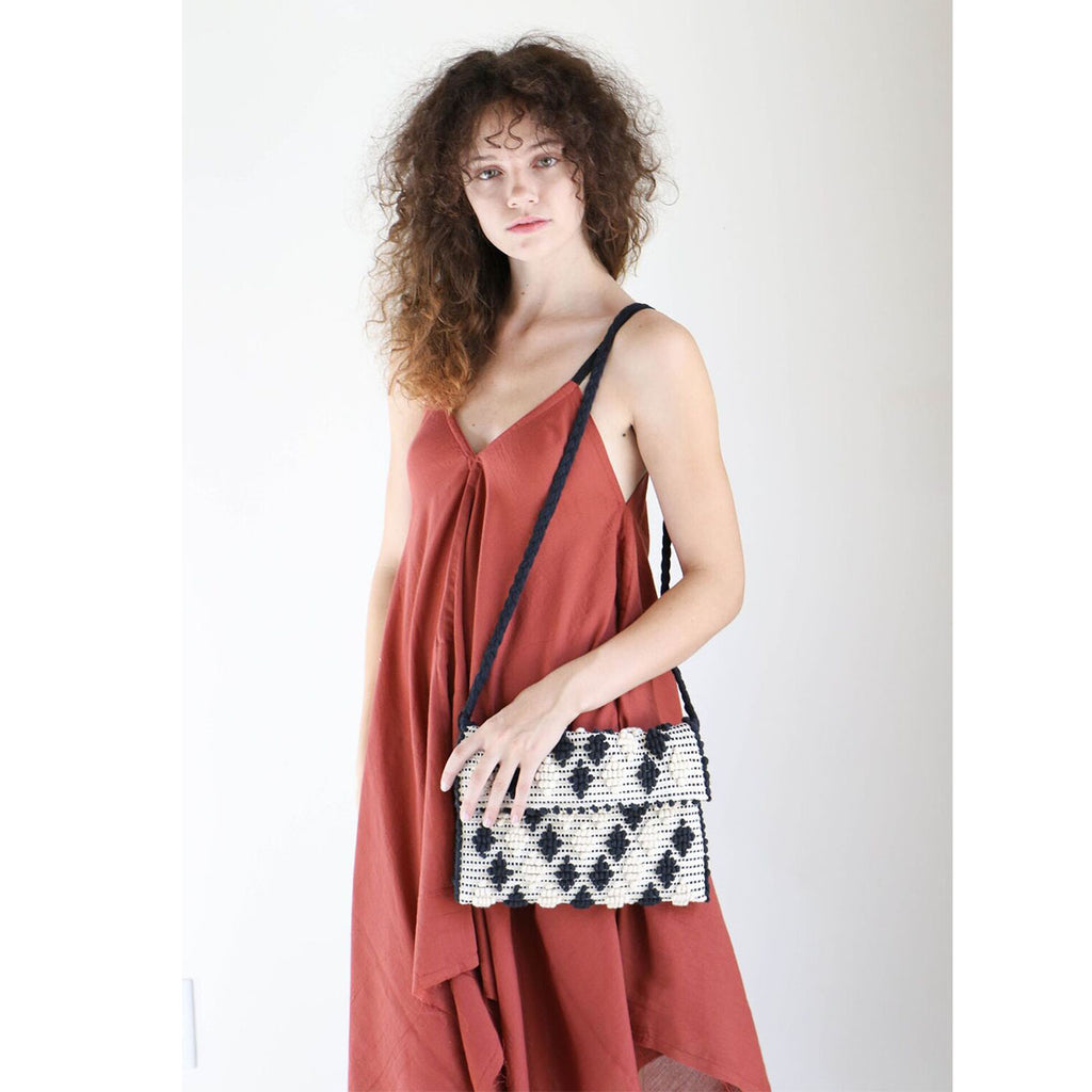 Loup Charmant Swallowtail Dress in Brick