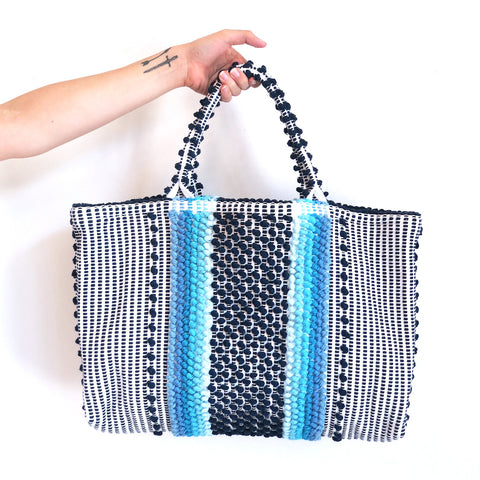 Antonello Telti Chelu Tote in Blue