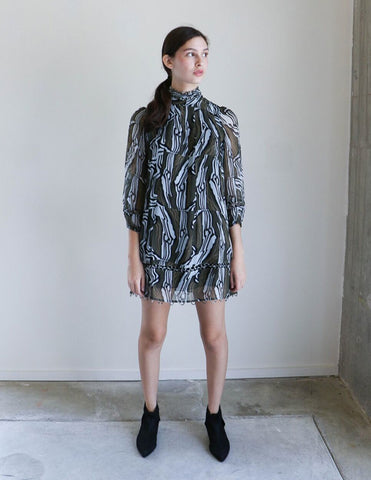 Apiece Apart La Sierra Dress in Wild Earth
