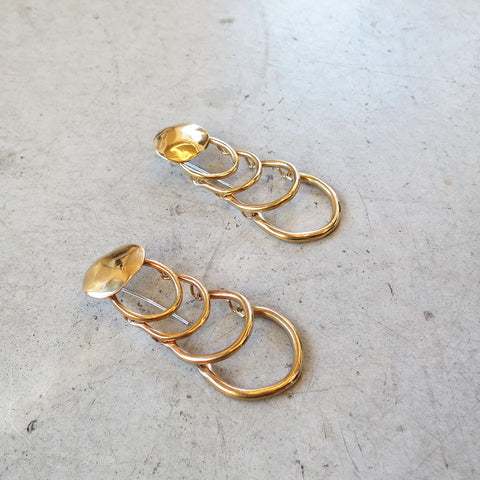 Ariana Boussard-Reifel Agustin Earrings in Brass