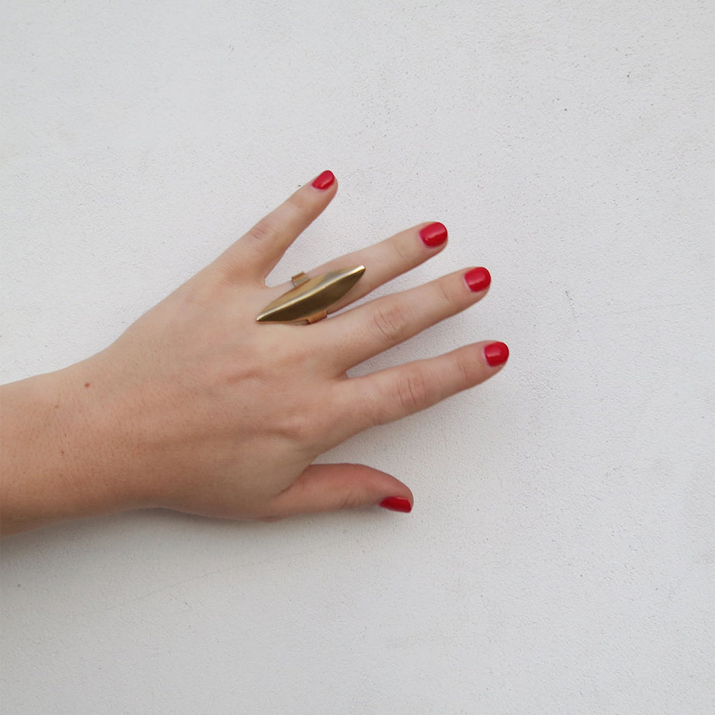 Ariana Boussard-Reifel Banff Ring in Brass