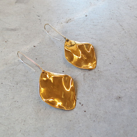 Ariana Boussard-Reifel Chama Earrings in Brass