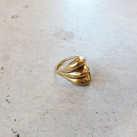 Ariana Boussard-Reifel Kara Ring in Brass