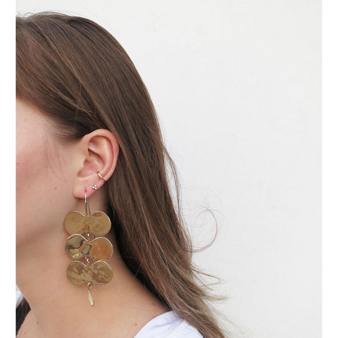Ariana Boussard-Reifel Palomas Earrings in Brass