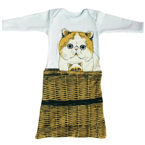 Electrik Kidz PomPom Kitty Pocket Gown