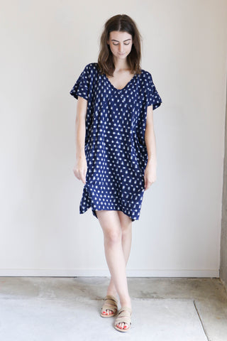 Esby Alice Tunic in Navy Dot