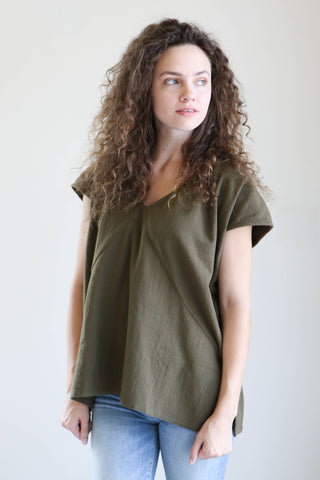 Esby Avery Top in Olive