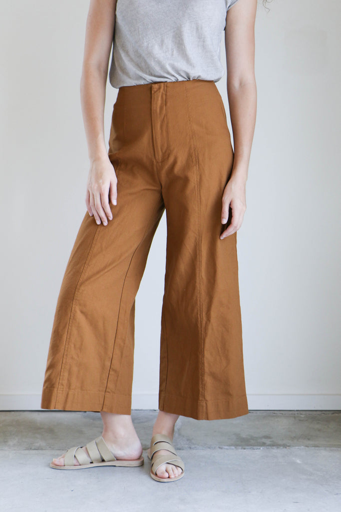 Esby Lucia Pants in Camel