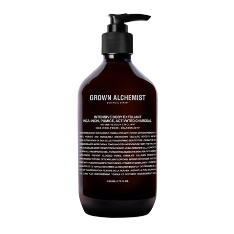 Grown Alchemist Intensive Body Exfoliant with Inchi, Pumice and Activated Charcoal
