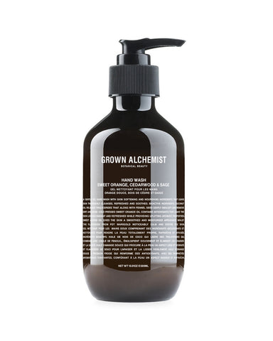 Grown Alchemist Hand Wash with Sweet Orange, Cedarwood and Sage