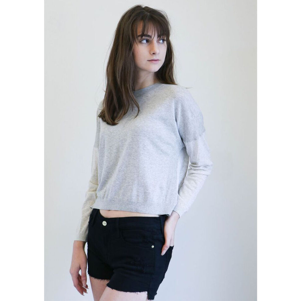 IRO Jvoti Sweater in Light Grey