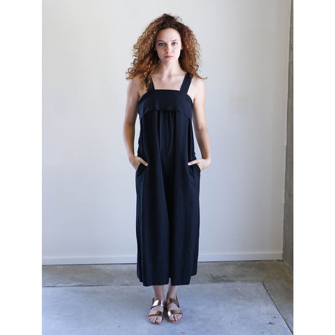 Ulla Johnson Iggy Jumpsuit in Jet