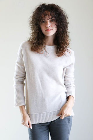 Inhabit Relaxed Pullover in Mirage