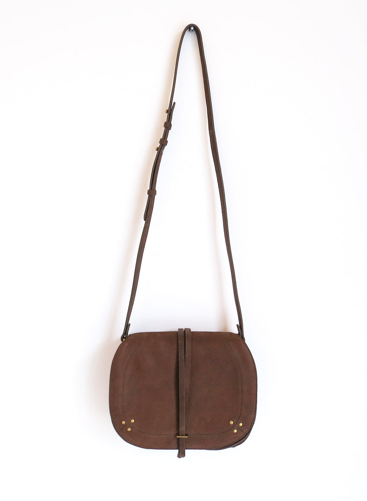 Jerome Dreyfuss Nestor Bag in Kaki Goatskin
