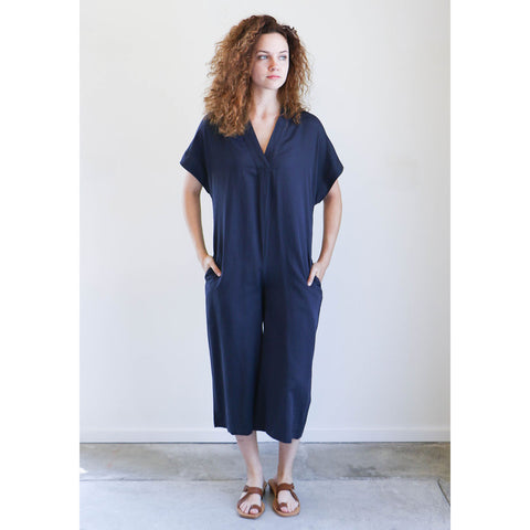 7115 By Szeki Hanbok Jumpsuit in Navy