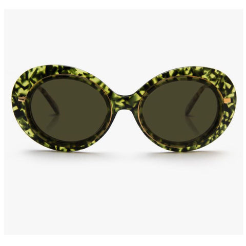 Krewe du Optic Iris Sunglasses in Absinthe