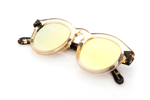 Krewe du Optic Toulouse Sunglasses in Champagne + Zulu
