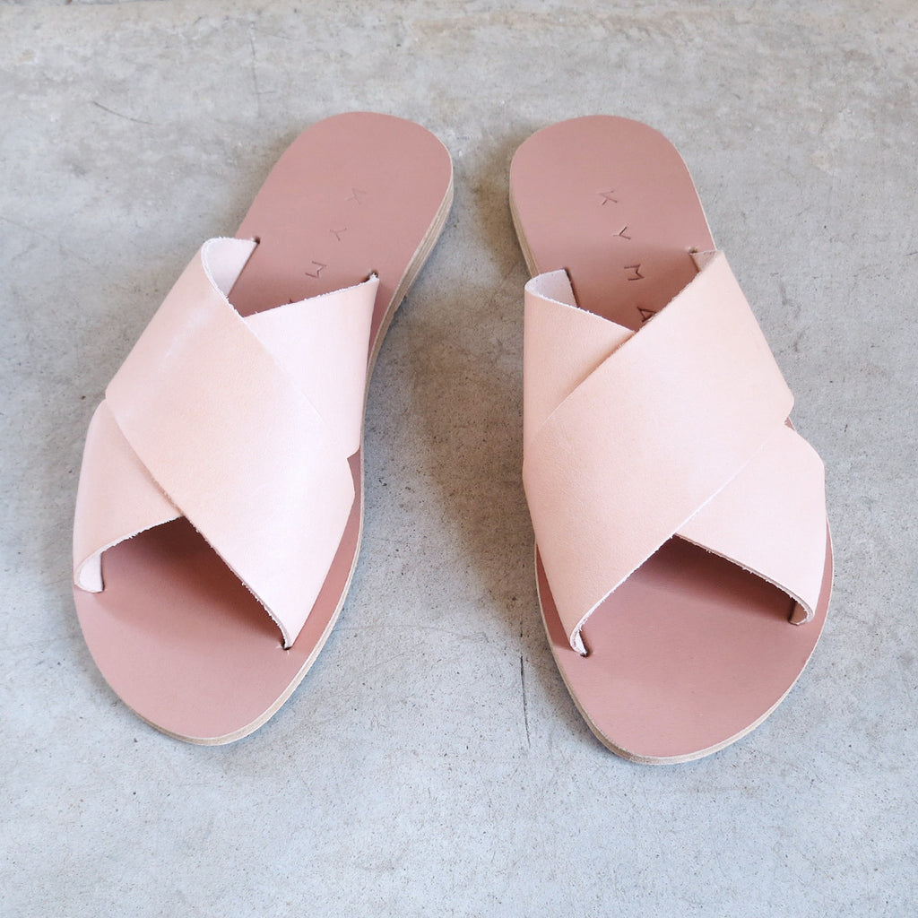 Kyma Chios Sandals in Pink