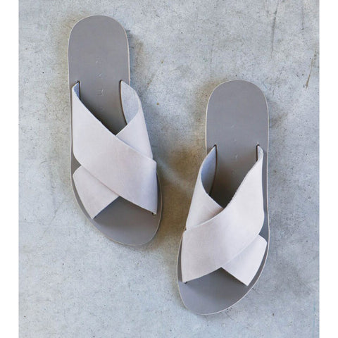 Kyma Chios Sandals in Grey