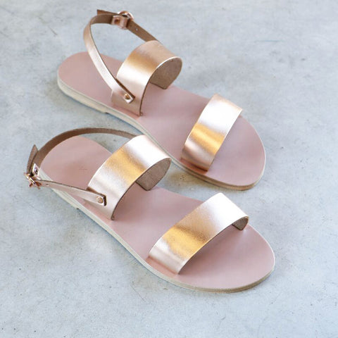 Kyma Mykonos Sandals in Bronze