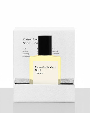 Maison Louis Marie No.10 - Aboukir Perfume Oil