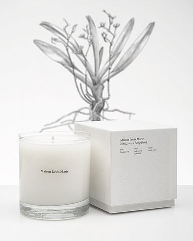 Maison Louis Marie No.2 Le Long Fond Candle