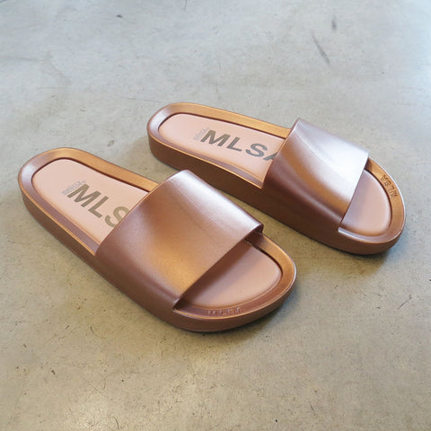 Melissa Beach Slide in Rose Gold