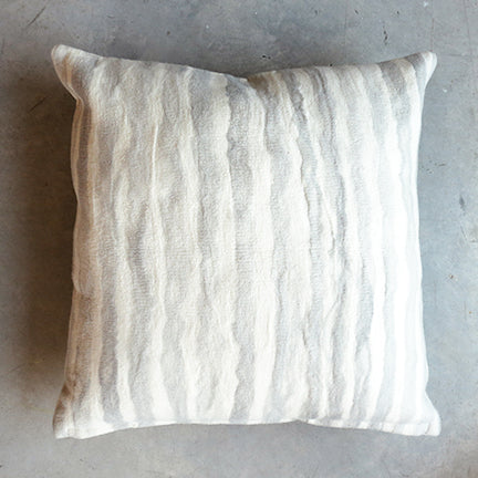 Minna Felted Pillow in Grey