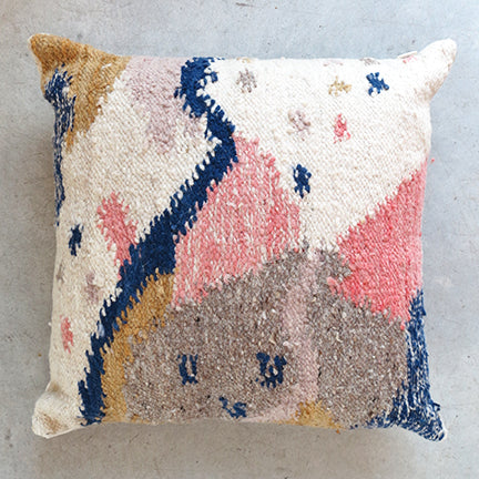 Minna Cartographer Wool Pillow