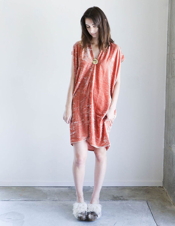 Miranda Bennett Everyday Dress in Anais Velvet