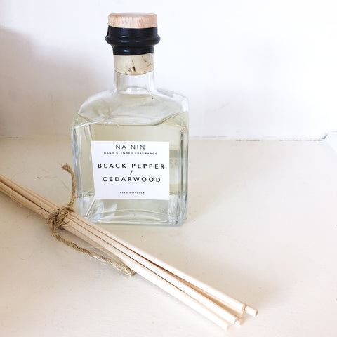 Na Nin Black Pepper + Cedarwood Reed Diffuser