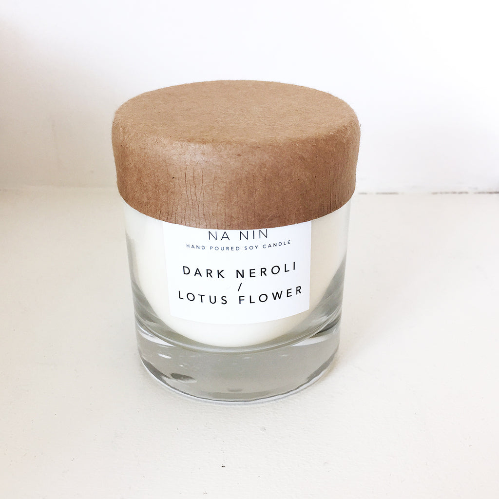 Na Nin Dark Neroli + Lotus Flower 8oz Candle
