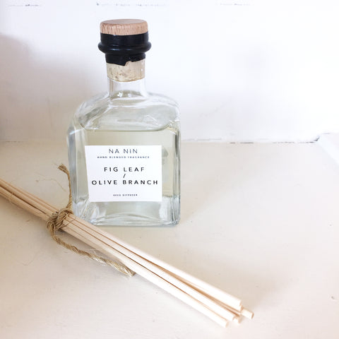 Na Nin Fig Leaf + Olive Branch Reed Diffuser