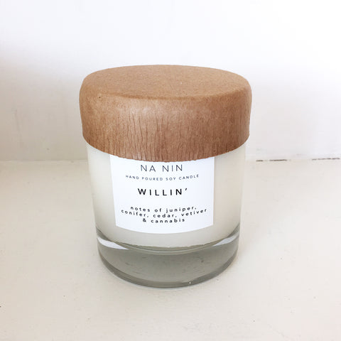Na Nin Willin 8oz Candle
