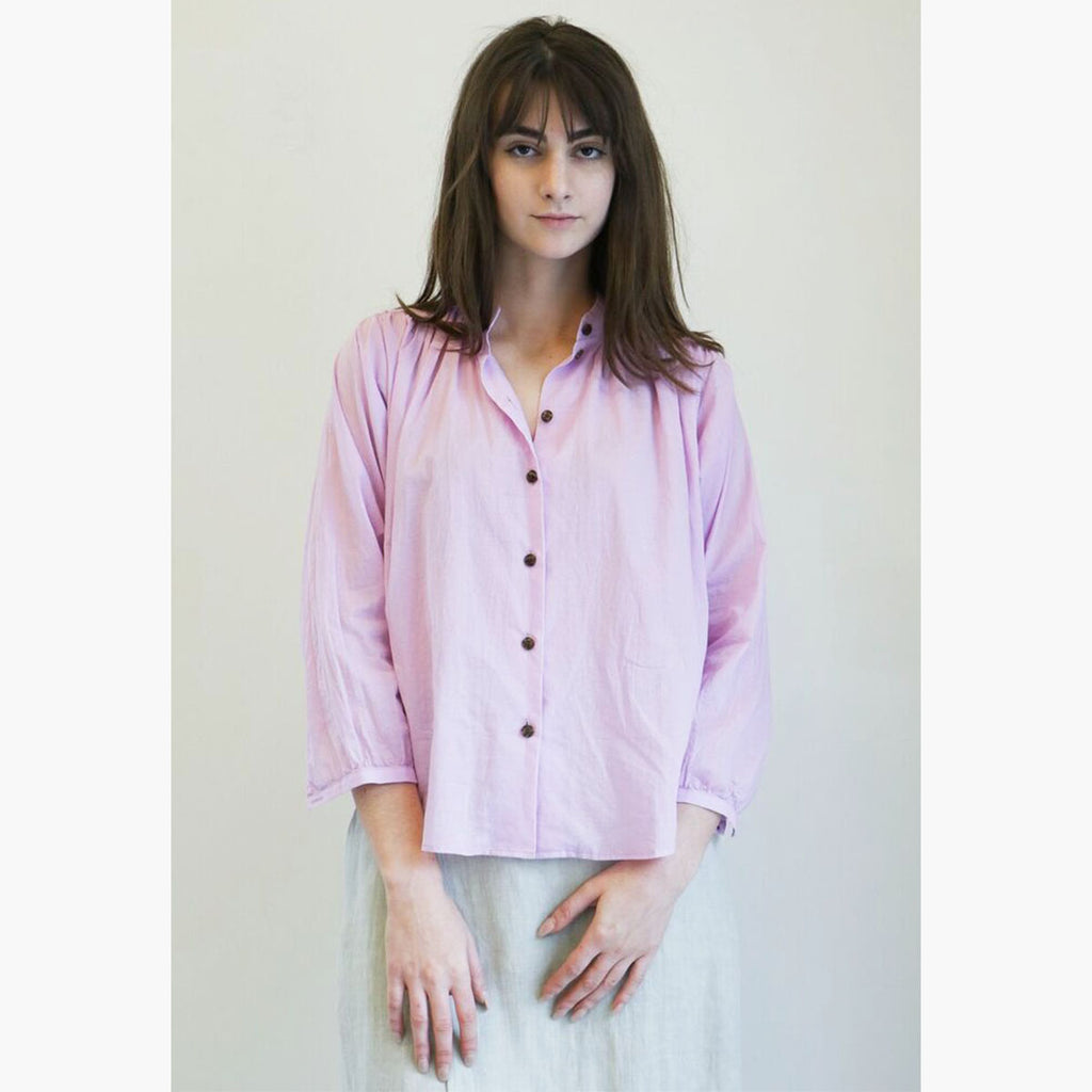 No. 6 Quinn Field Blouse in Lilac