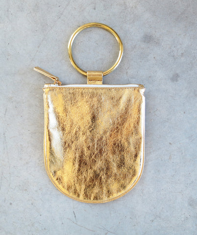 Otaat/Myers Medium Ring Pouch in Gold