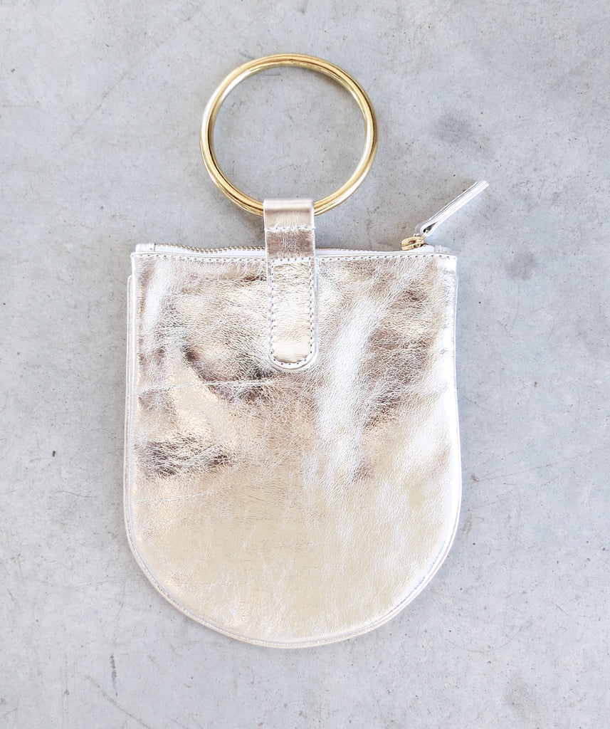 Otaat/Myers Medium Ring Pouch in Silver