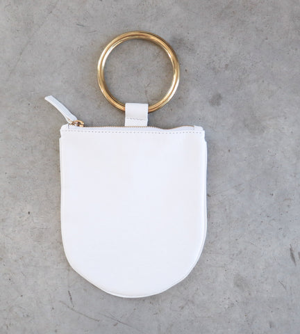 Otaat/Myers Medium Ring Pouch in White