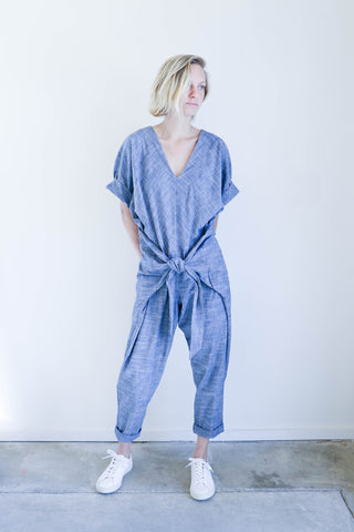 Pharaoh Andrea Jumpsuit in Indigo