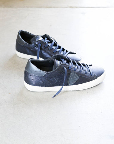 Philippe Model Paris Sculpte Sneakers in Blue