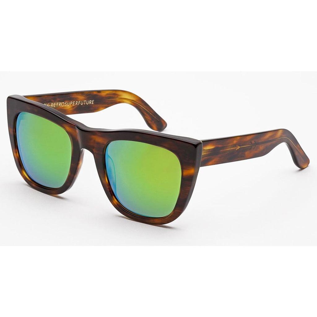 RetroSuperFuture Gals Cove Sunglasses in Havana
