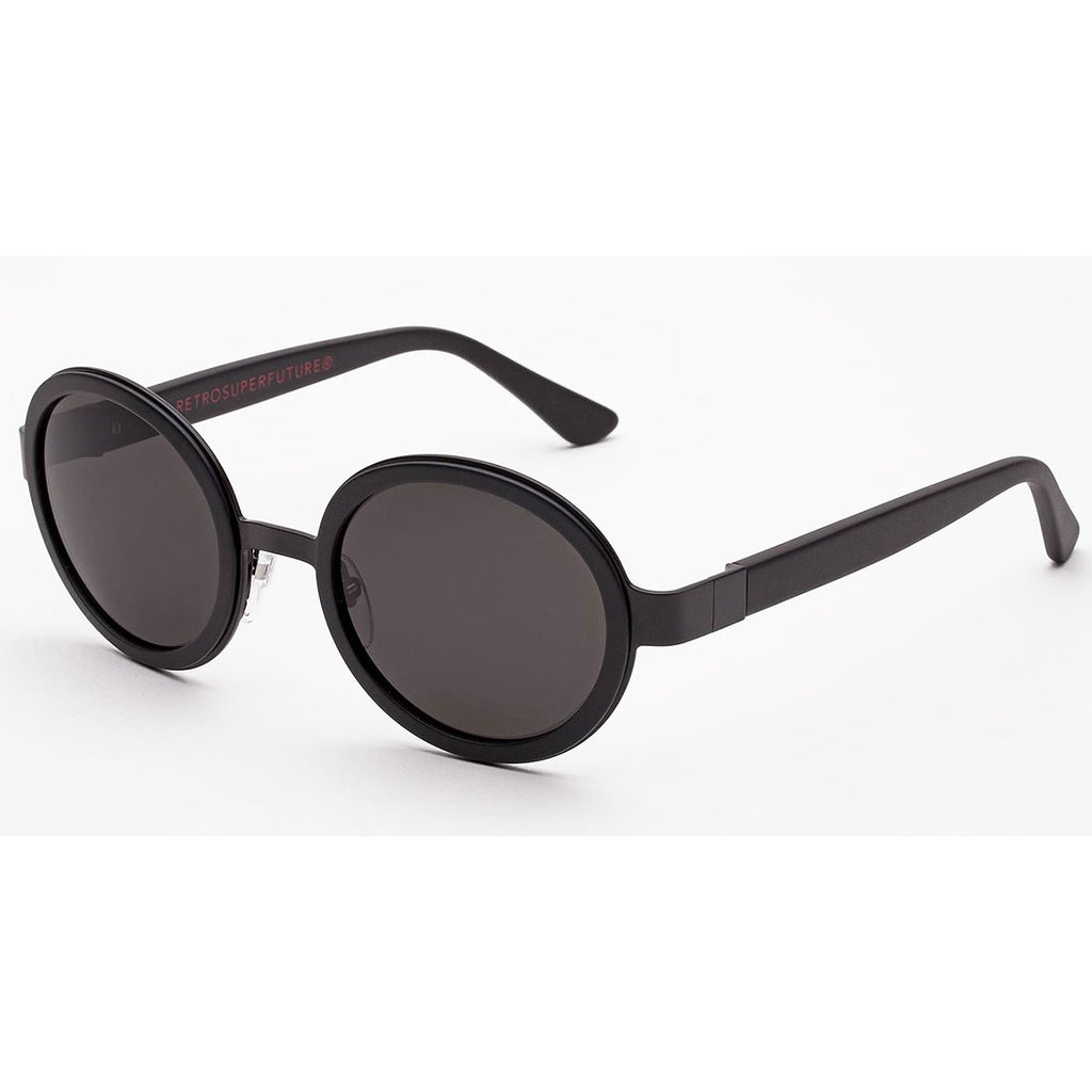 RetroSuperFuture Santa Sunglasses in Black Matte