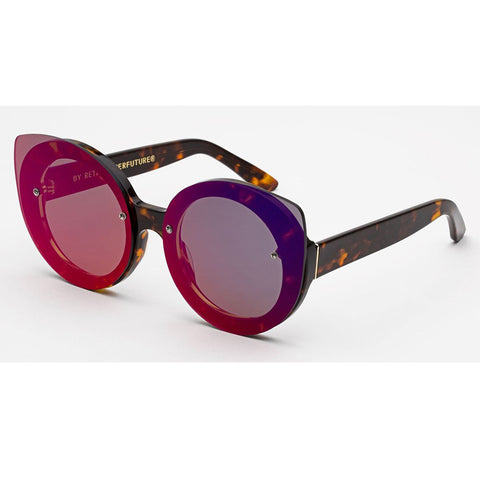 RetroSuperFuture Rita Infared Sunglasses in Red