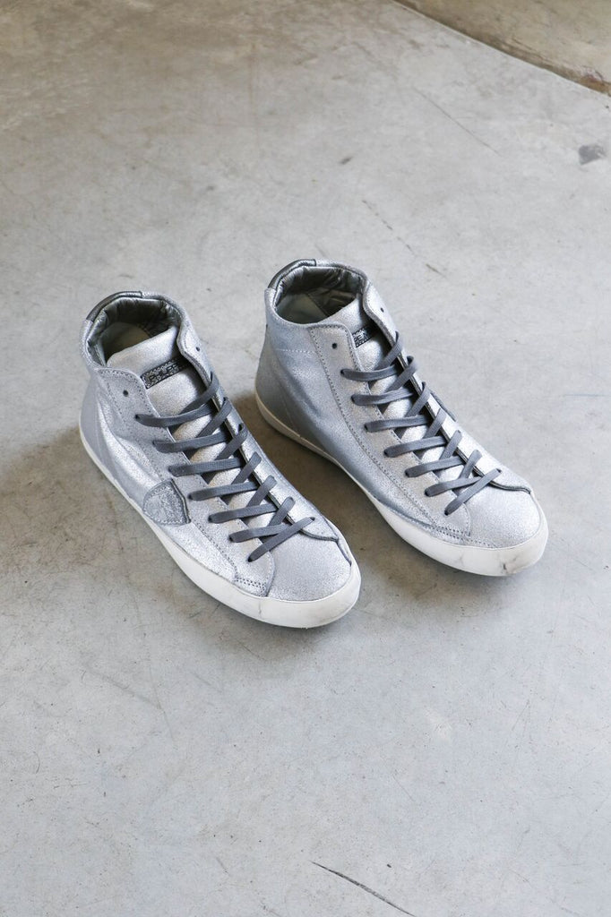 Philippe Model Madeline Sneakers in Metal