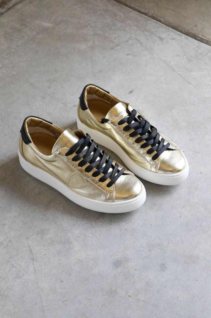 Philippe Model Paris Sneakers in Mixage Argent