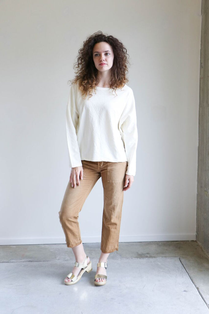 Revisited Mesina Sweater in Bone