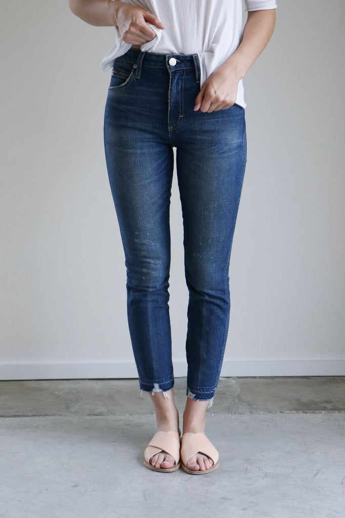 Amo Denim Stix Crop Jeans in Rambler
