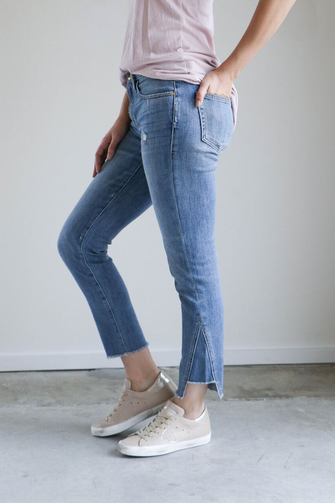 Frame Le Boy Jeans with Gusset in Beaudry
