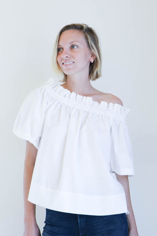 Shaina Mote Hysperia Top in Salt
