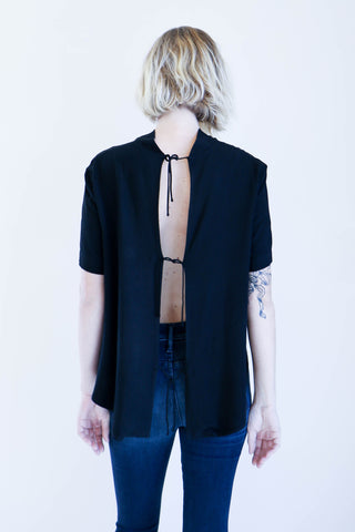 Shaina Mote Scarpa Top in Onyx